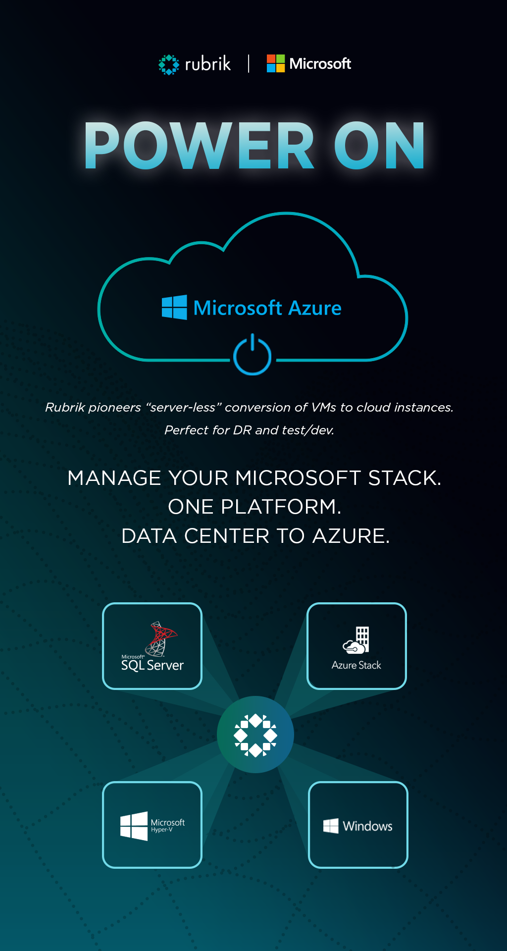 Rubrik and Microsoft (Infographic)