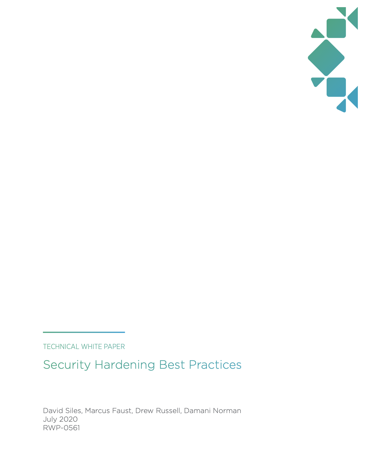Security Hardening Best Practices